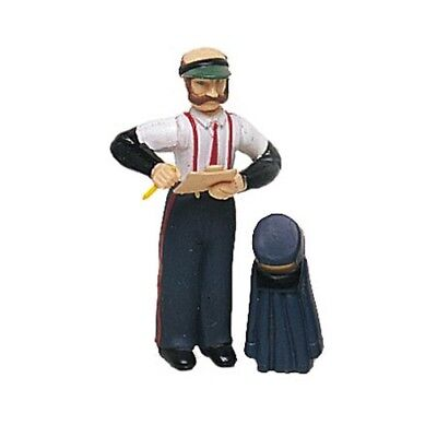 Bachmann 92313 G-Scale Station Agent Figure with Hat and Coat