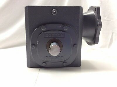 Boston Gear Speed Reducer F726-40-B5-G 40:1 Ratio Right Angle 56C-Face 1-1/8 5/8