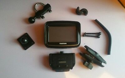 Tomtom rider V5 motorcycle sat nav with lifetime UK & Europe mapping