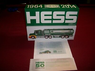HESS 2014 COLLECTOR'S EDITION HESS TOY TRUCK  M.I.B. with C.O.A.