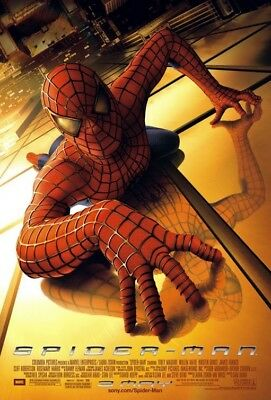 Spider-Man (2002) Original Advance B Movie Poster  -  Rolled  -  Double-Sided