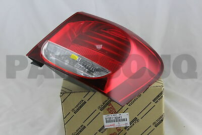 8155130A41 Genuine Toyota LENS & BODY, REAR COMBINATION LAMP, RH 81551-30A41