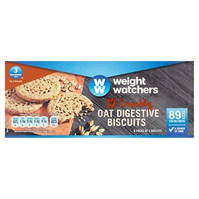 WeightWatchers Oat Digestive Biscuits 114 g  Pack of 10