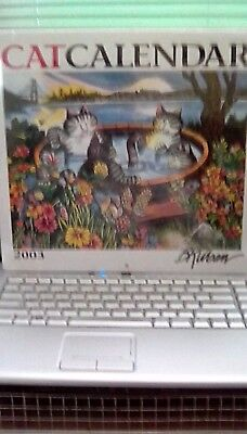 Reduced KLIBAN Cat Calendar 2003 Monthly.  New in wrapper.