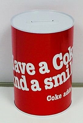 Share A Coke - Coca Cola Piggy Bank - Money Box- Savings Collection Tin