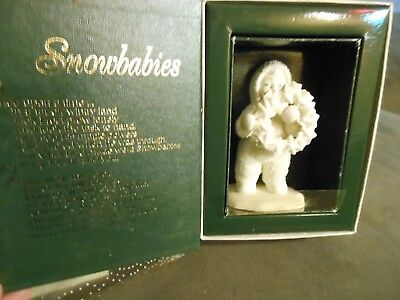 Dept 56 Snowbabies 'I Made This Just for You' #6802-0 Figurine ... in orig box