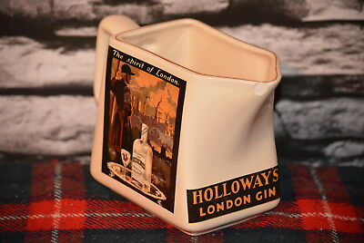 Holloway´s London Gin A Spirit Of London Water Jug Wasser Krug #c0295