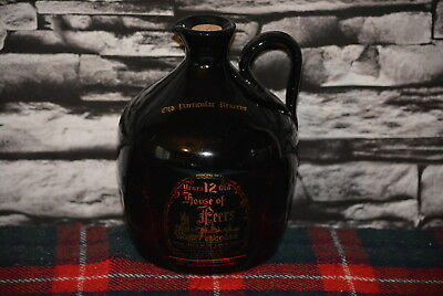 House Of Peers Old Particular Reserve 12 Scotch Whisky Decanter Leer  #c0304