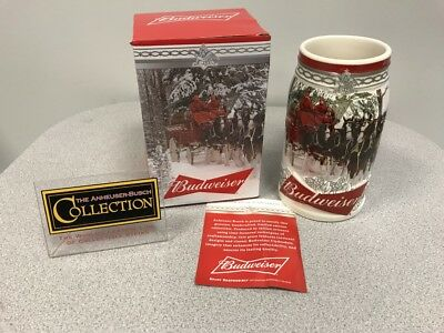 2017 Budweiser Annual Holiday Stein