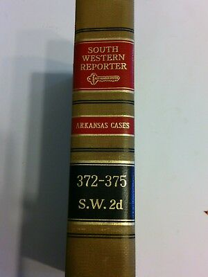 south western reporter arkansas cases 372-375 s.w. 2d