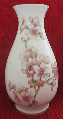 Sutherland Bone China Hand Painted Vase signed by K Hancock Excellent Condition