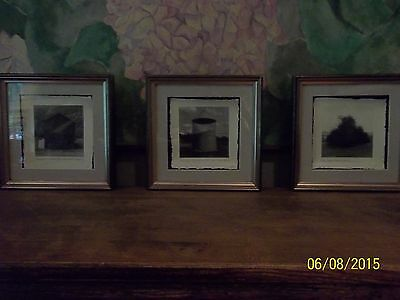 David Halliday Artist Proof Photos Signed & Titled Lot of 3