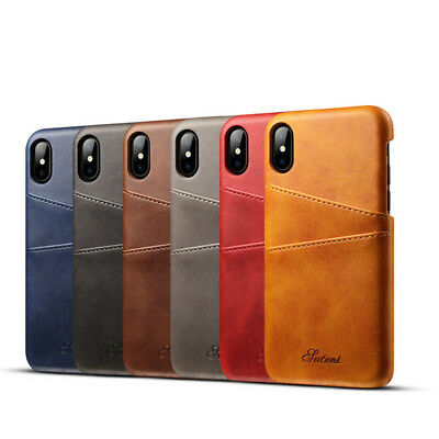 Iphone X Case Pu Leather Cover Protective Plus Luxury Slim Thin Phone Soft Back