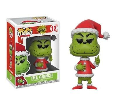Funko Pop Books Dr. Seuss The Grinch- The Grinch #12 New Vinyl Figure