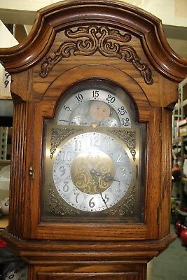 Free Standing Herschede Grandfather Clock Malaga 1233