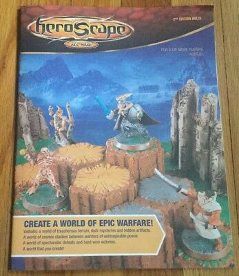 HEROSCAPE Game - Instruction Manual - Replacement Parts