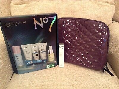 BN No7 protect & perfect Skincare Collection Gift Set day night eye cream oil