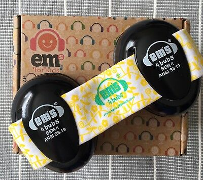 EMS 4 Bubs Hearing Ear Muff Protectors For Baby As New Only Worn Once