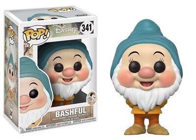 Funko Pop Disney Snow White & The Seven Dwarfs Bashful #341 New Vinyl Figure