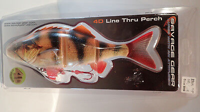 "SAVAGE GEAR 4D LINE THRU PERCH ""ALBINO"" 23 cm, 145 GRamm"