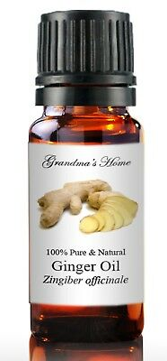 Ginger Essential Oil - 5 mL - 100% Pure and Natural - Free Shipping - US Seller