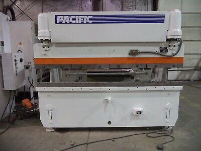 Pacific Model J55-8, 55 Ton, 8' X 12 GA Hydraulic Press Brake
