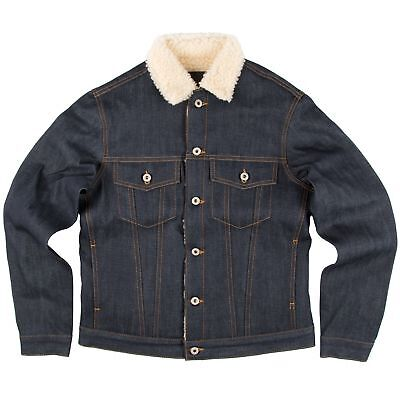 Naked & Famous Denim SHERPA JACKET - Left Hand Twill