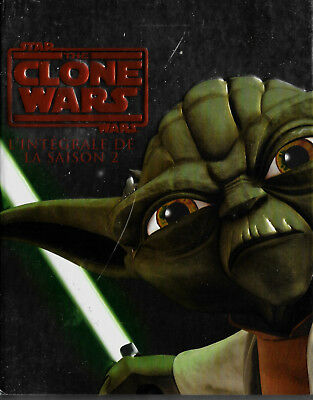 Star Wars - The Clone Wars Intégrale saison 2 - Coffret 3 Blu Ray - Comme neuf
