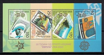 Macedonia 2005 _ 2 x The 50th Anniversary of the First Europa Postage Stamp _MNH