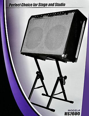 Onstage Rs7000 Tiltback Amp Stand. Bigger And Stronger. 68 Capacity