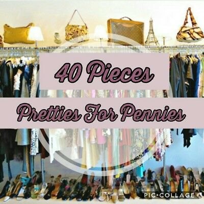 BULK clothing LOT 40 pc Namebrand Resell Wholesale Closeout Womens Clothes