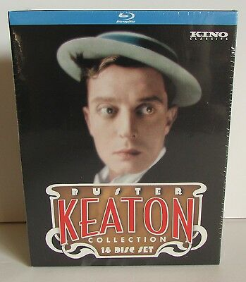 The Ultimate Buster Keaton Collection Blu-ray 14 disc box set NEW / SEALED!