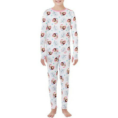 Girls' Top & Leggings by ClimateRight by Cuddl Duds Disney Frozen X-S 4/5