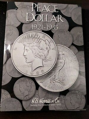1921-1935 90% Peace Dollar Complete Set 24 Coins W/ Key Dates 1921,1928,1934s