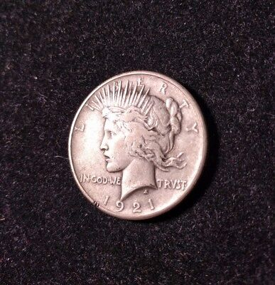 1921 High Relief Peace Dollar