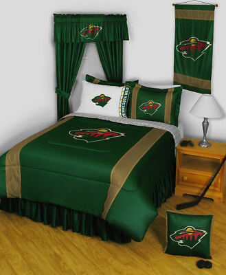 Minnesota Wild NHL Bedroom Set with many options and FREE SHIPPING!