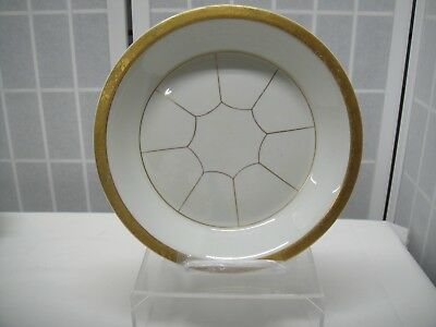 "Hall China Pie Plate, 10"", Made Exclusively for Forman Bros. Inc."