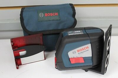 Bosch GLL 2-45 Self Leveling Crossline Laser Level with Case