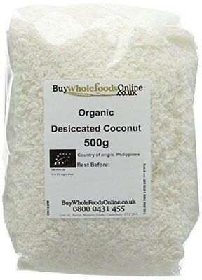 Buy Whole Foods Organic Coconut Desiccated 500 g