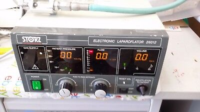 Karl Storz 26012C Electronic Insufflator as pictured working with yoke