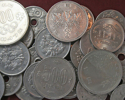 3400.50 Japanese Yen Coins Redeemable During Travel in Japan