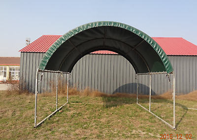 4x4 Large Sturdy Horse Shelter Cattle Shed Animal Cover