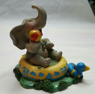 The Hamilton Collection Elephant Having A Ball Peanut Pals Figurine 1996