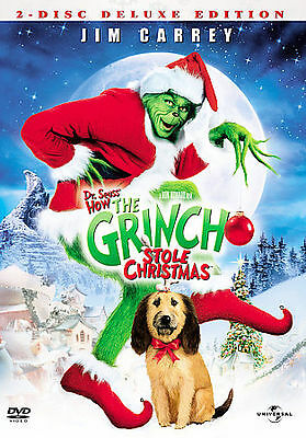Dr. Seuss' How the Grinch Stole Christmas (Full/Widescreen DVD) Deluxe Edition