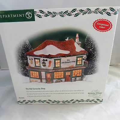 """Dept 56 Dickens Village Collection """" The Old Curiosity Shop"""" New"""