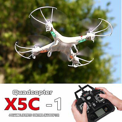 Gift X5C-1 Helicopter 2.4Ghz 6-Axis UAV RTF Quadcopter Drone UFO Gyro RC RC Mode