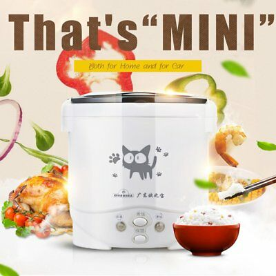 OUSHIBA 1L Mini Rice Cooker Electric Rice Cooker Cute Pattern Auto Rice Cooker Z