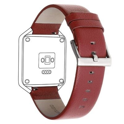 (Red-Large) - SnowCinda Acessory Replacement Bands for Fitbit Blaze Smart