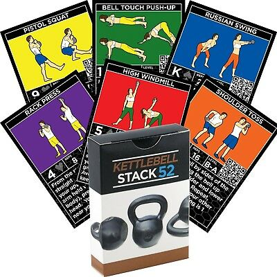 (Kettle Base Deck) - Kettlebell Exercise Cards by Strength Stack 52.