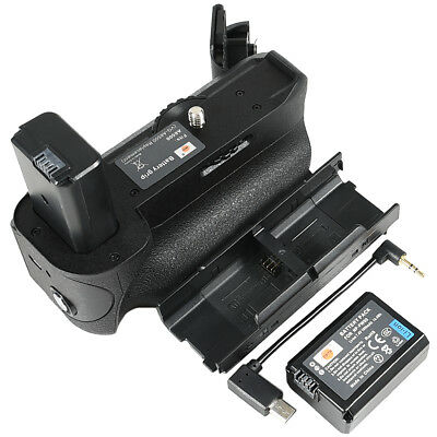 DSTE VG-6500 Battery Grip with NP-FW50 Battery for Sony A6500 Camera